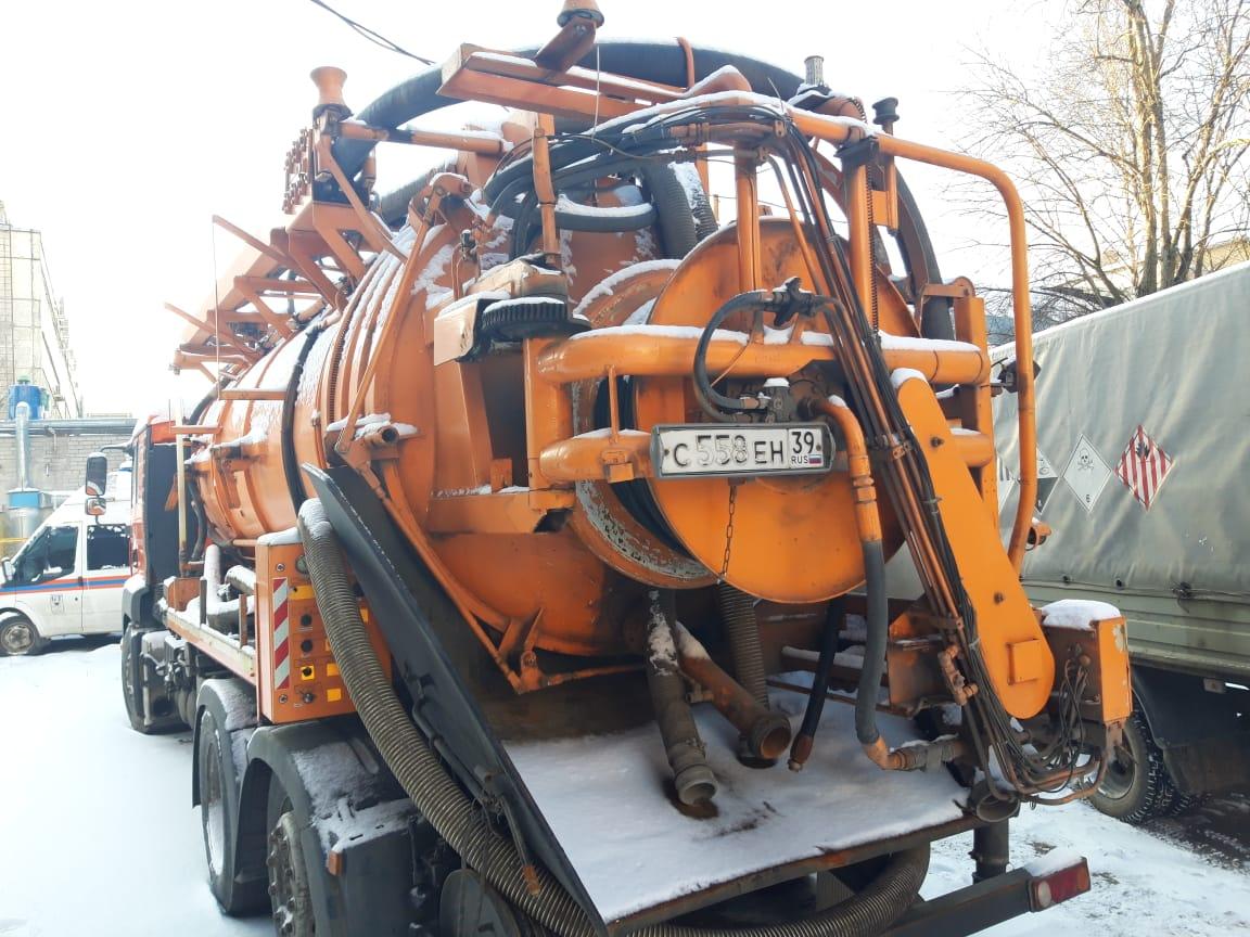Каналопромывочная машина на базе MAN TGA 350 BL 6*2